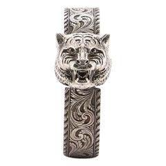 Gucci Le Marche Des Merveilles Secret Tiger Head Quartz Watch Stainless Steel