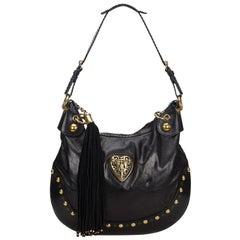 Gucci Leather Babouska Hobo Bag