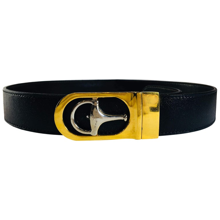 Gucci Leather Belt For Sale