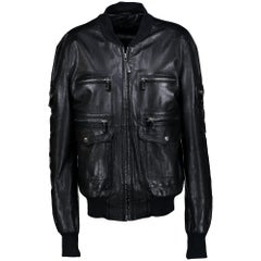 Gucci Leather Jacket - IT size 52