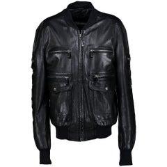 Gucci Leather Jacket - IT size 52