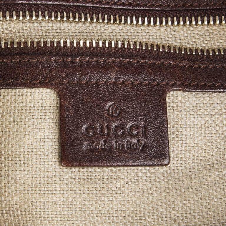 GUCCI light brown PYTHON PELHAM Hobo Shoulder Bag For Sale 1