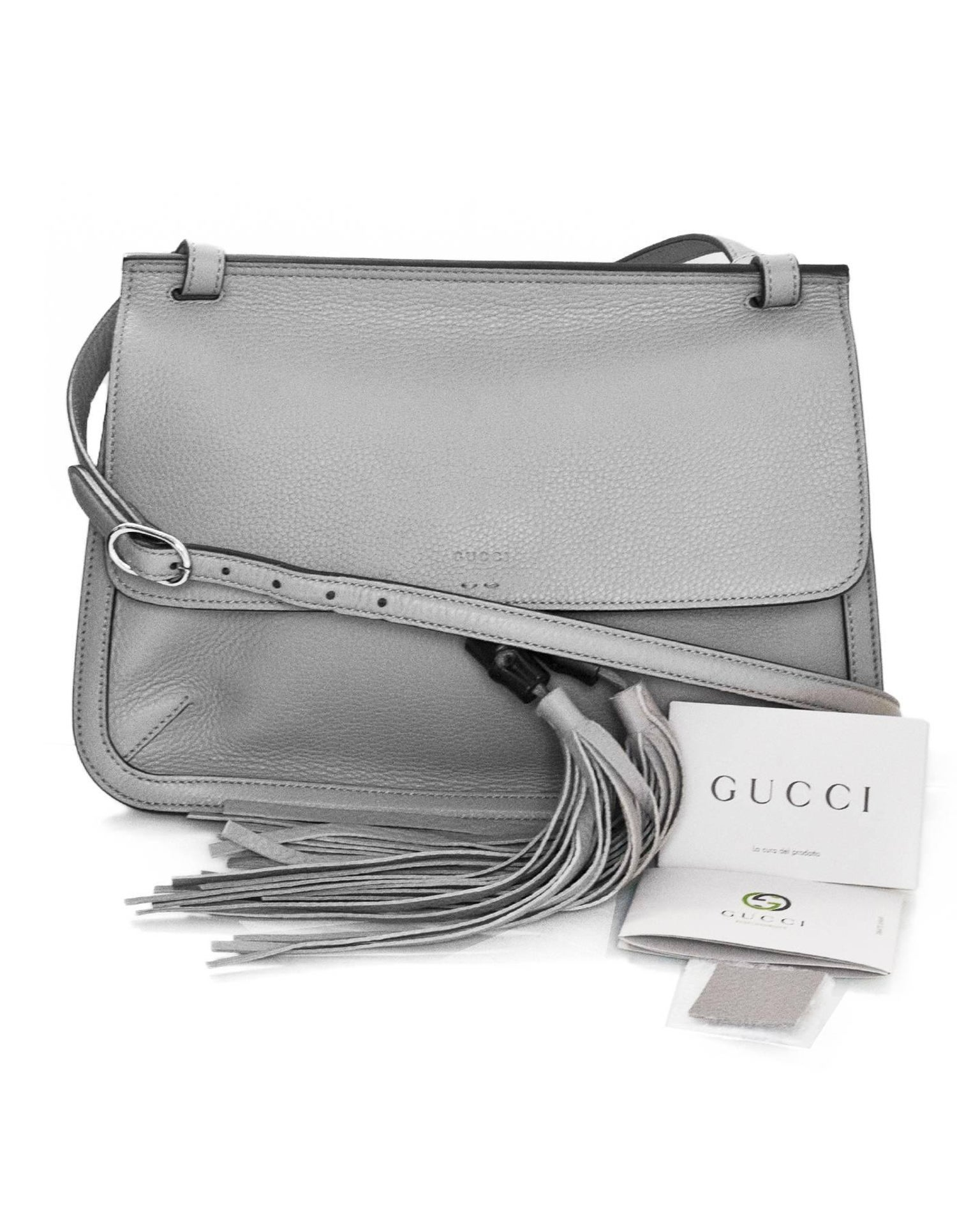 f02bb7839 Gucci Light Grey Handbag