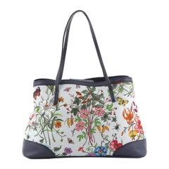 Gucci Limited Edition Tote Flora Canvas Medium