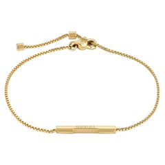 Gucci Link to Love Bracelet with 'Gucci' Bar YBA662106001