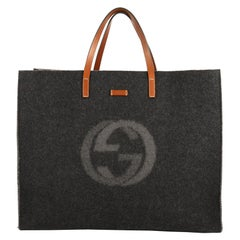 Gucci Logo Shopping Tote Felt Large
