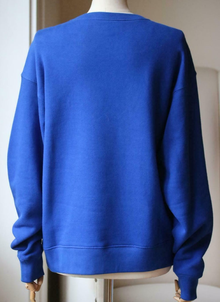 Gucci Loved-Patch Cotton-Jersey Sweatshirt  In Excellent Condition In London, GB