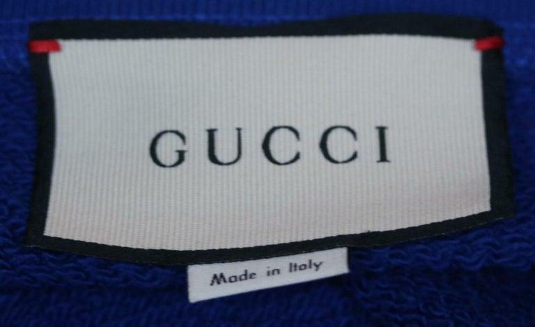 Women's or Men's Gucci Loved-Patch Cotton-Jersey Sweatshirt