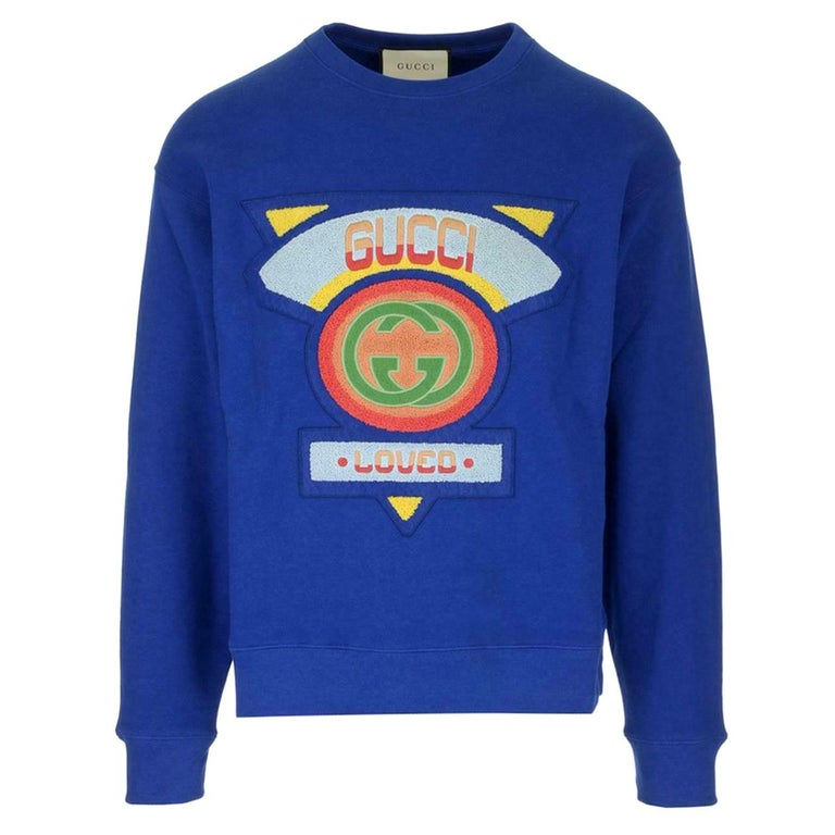 Gucci Loved-Patch Cotton-Jersey Sweatshirt