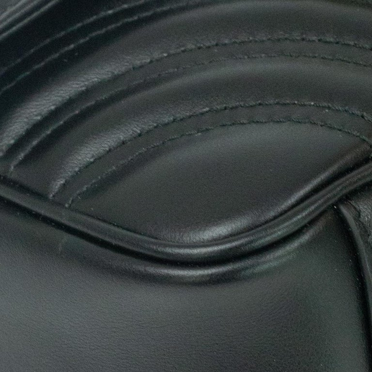 Gucci Marmont in black leather For Sale 5