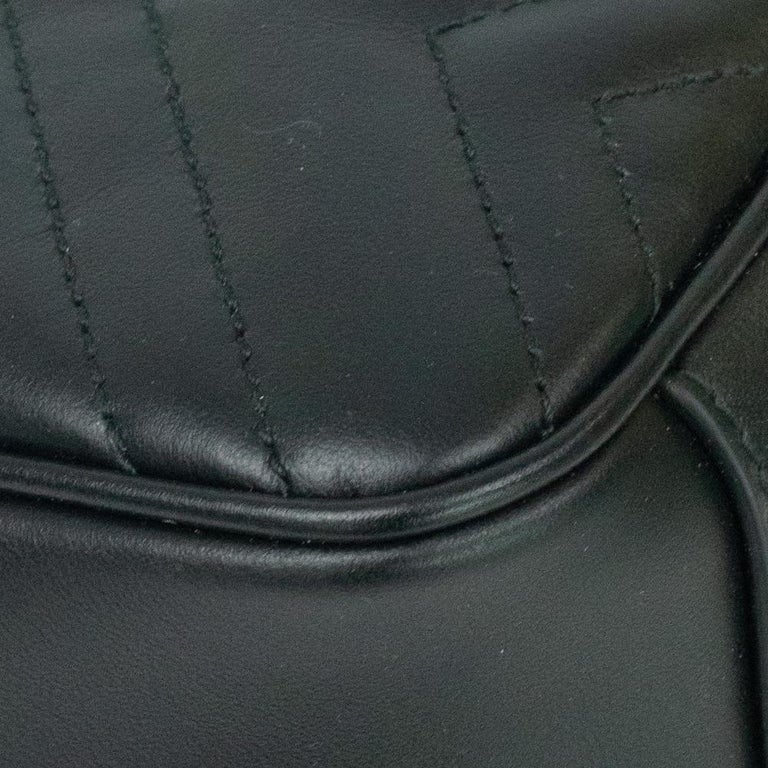Gucci Marmont in black leather For Sale 7