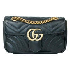 Gucci Marmont in black leather