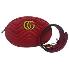Gucci Marmont Matelassé Belt Bag size 75