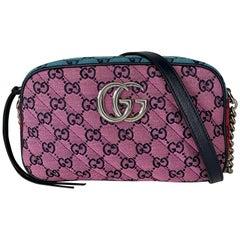 Gucci Marmont Multicolour Small Camera Bag (447632)