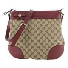 Gucci Mayfair Messenger Bag GG Canvas