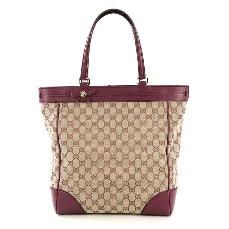 08e92646f5af30 Gucci Canvas Tote - 119 For Sale on 1stdibs
