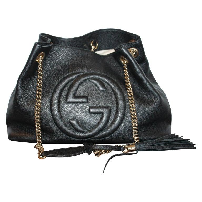 695102b7 Gucci Medium Soho Chain Shoulder Bag