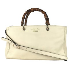Gucci Medium Soho Cream Leather Brossbody Bag