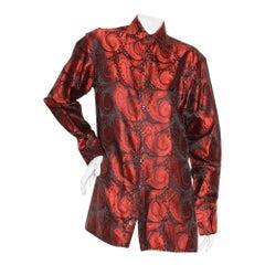 Gucci Men's Paisley Shirt 1997 RTW (Tom Ford Era)