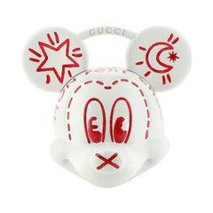 Gucci Mickey Mouse Top Handle Bag 3D Printed Plastic