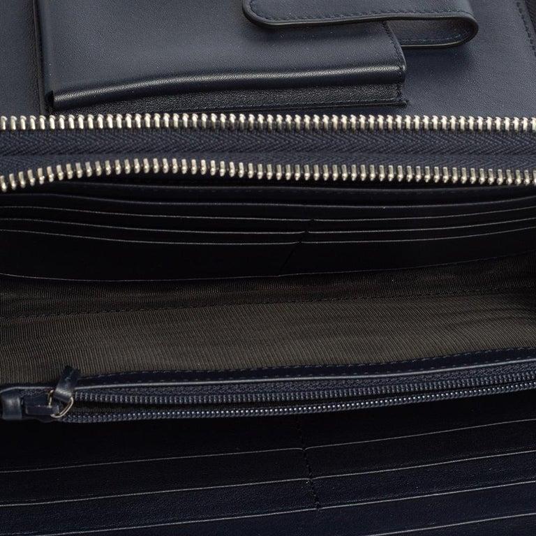 Gucci Microguccissima Leather Double Zip Organizer Clutch 2