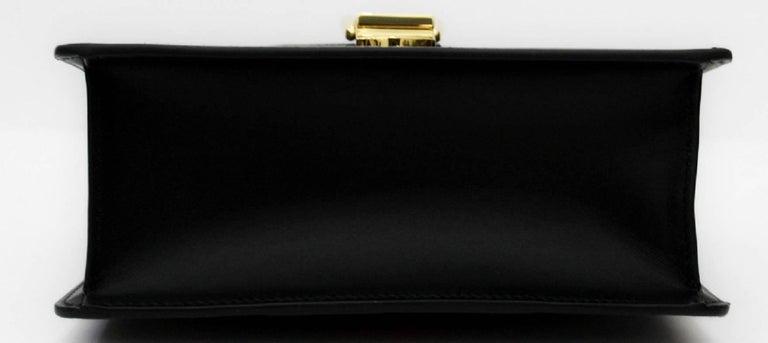 Gucci Mini Black Sylvie Bag 2018 In New Condition For Sale In Torre Del Greco, IT