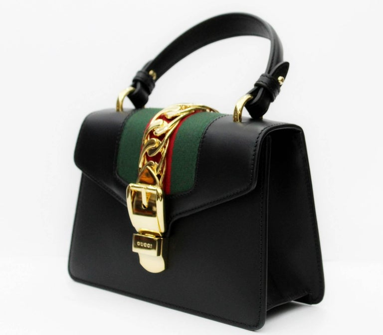 Gucci Mini Black Sylvie Bag 2018 For Sale 3