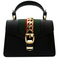Gucci Mini Black Sylvie Bag 2018
