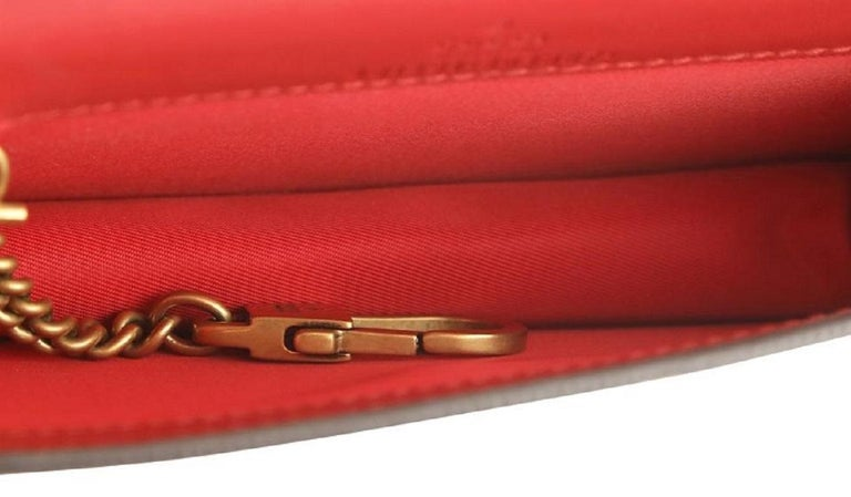Gucci Mini With Cherries Red Gg Supreme Canvas Cross Body Bag For Sale 2