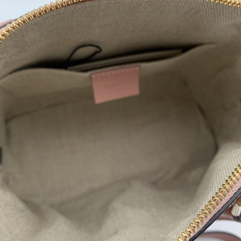 Gucci Mint Pink Micro Guccissima Leather Dome Bag Satchel 1
