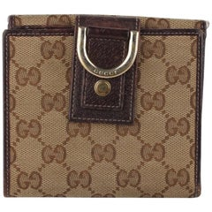 Gucci Monogram Abbey Wallet