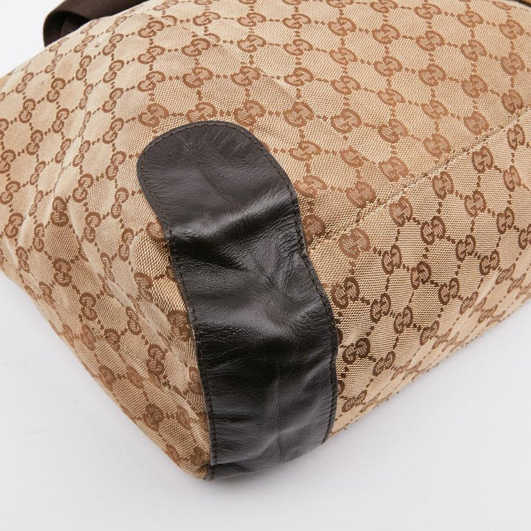 GUCCI Monogram Canvas Bag In Good Condition For Sale In Paris, FR