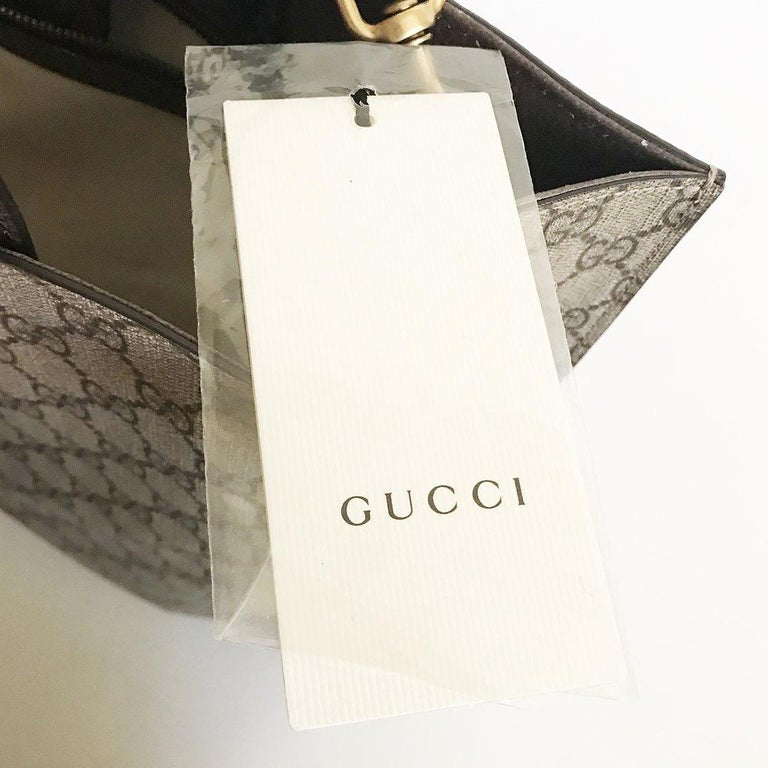Gucci Monogram Floral Canvas Tote For Sale 6