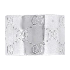 Gucci Monogram Icon Wide Extra Large Band