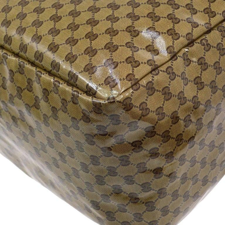 88f374a4601f Gucci Monogram Men's Women's Travel Duffle Carryall Weekender Shoulder Tote  Bag For Sale 1
