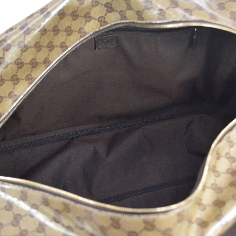 284fe8c64d0b Gucci Monogram Men s Women s Travel Duffle Carryall Weekender Shoulder Tote  Bag at 1stdibs