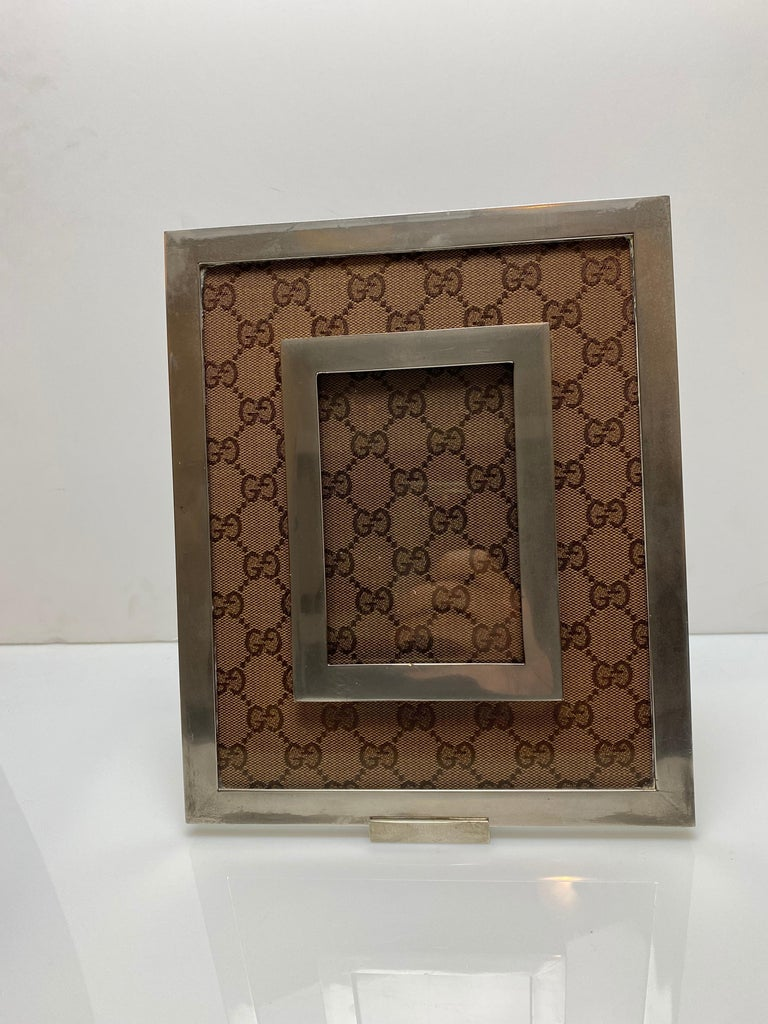 Gucci Monogram Picture Frame In Good Condition For Sale In New York, NY