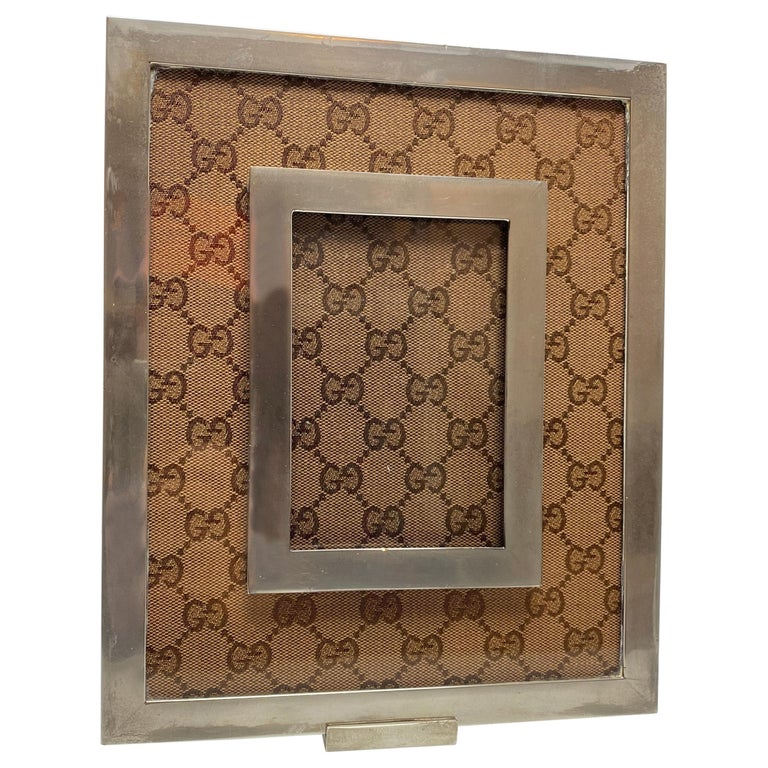 Gucci Monogram Picture Frame For Sale