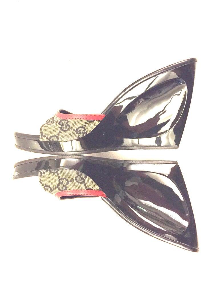 Gucci monogram platform shoes  For Sale 1