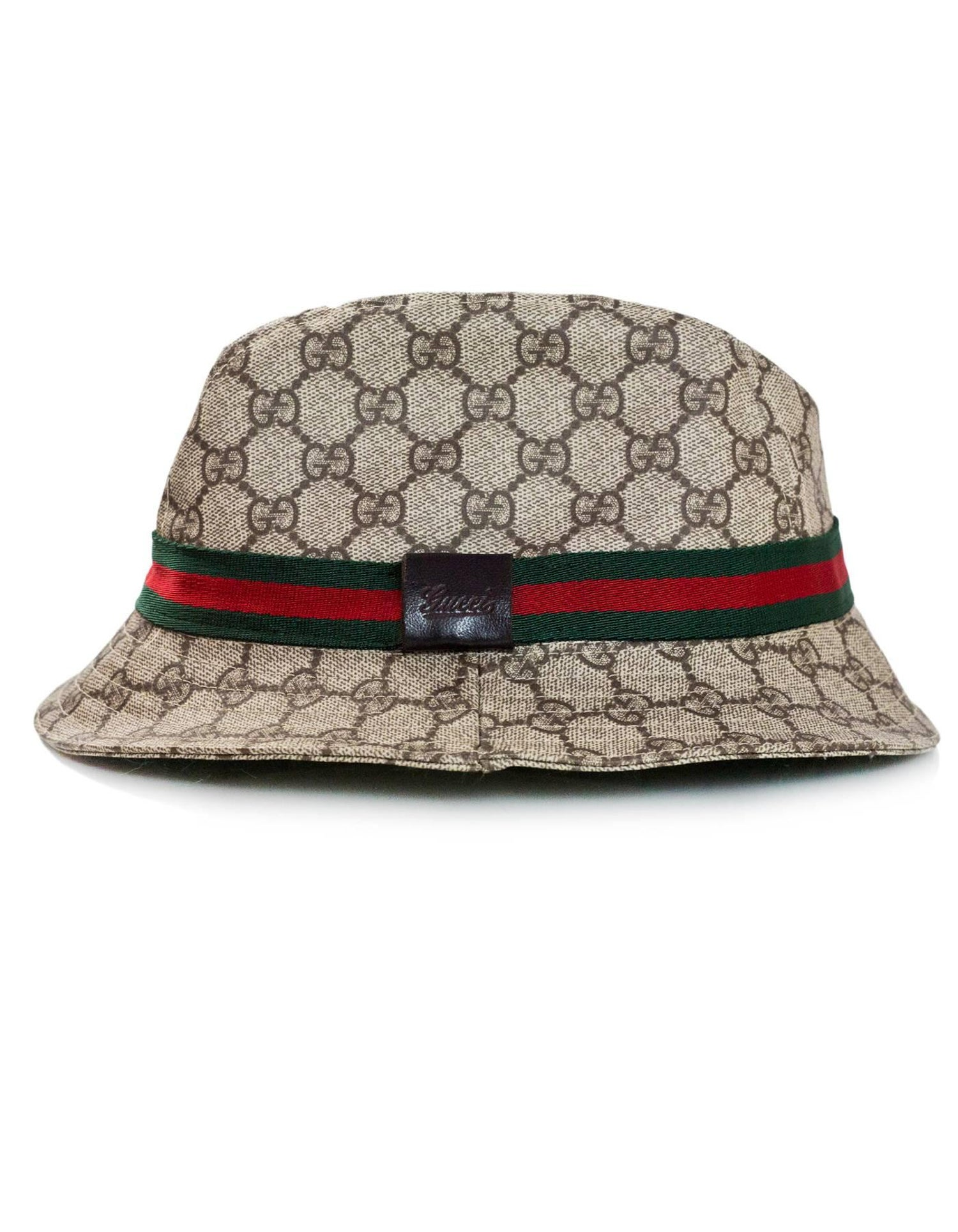 Gucci Monogram Supreme Bucket Hat Sz S For Sale at 1stdibs e4cb737dd94