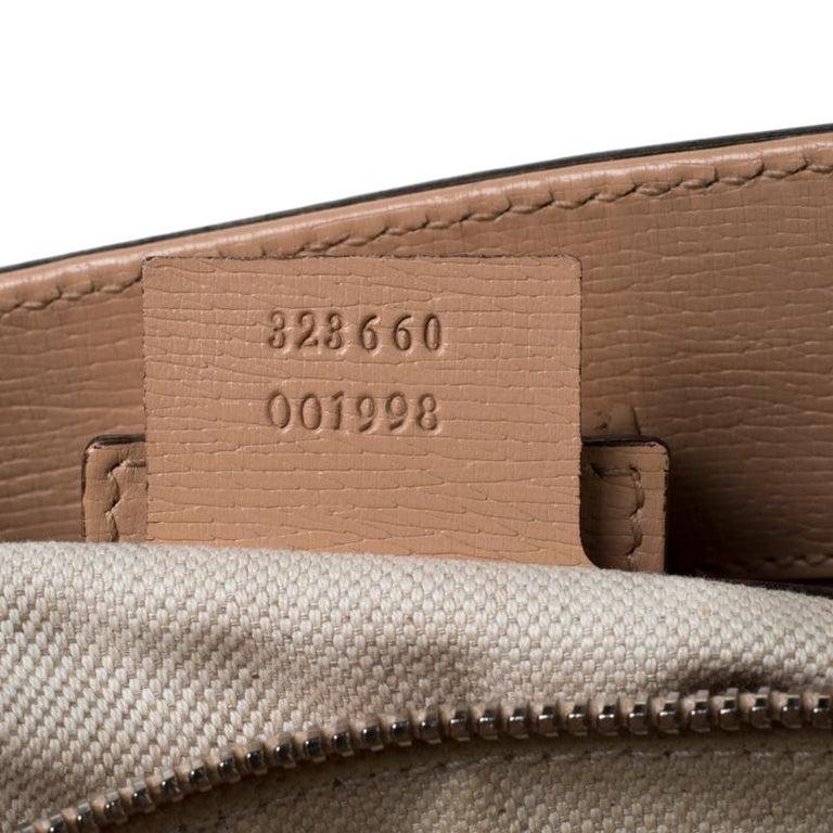 Gucci Multicolor Bloom's Printed Leather Bamboo Shopper Tote 1