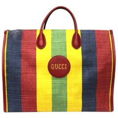 Gucci Multicolor Canvas Baiadera Bag