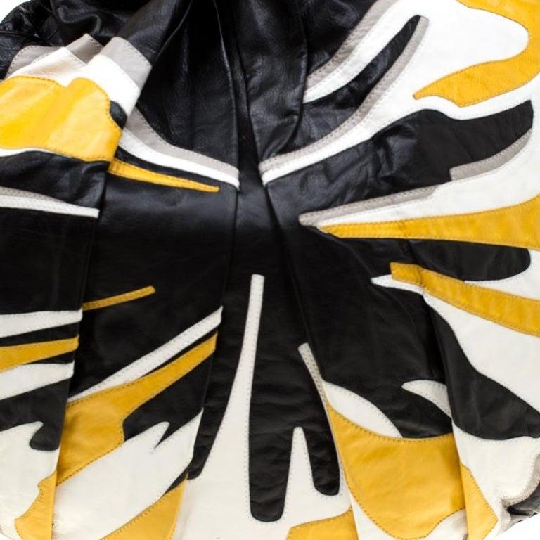 Gucci Multicolor Leather Large Hysteria Hobo For Sale 6