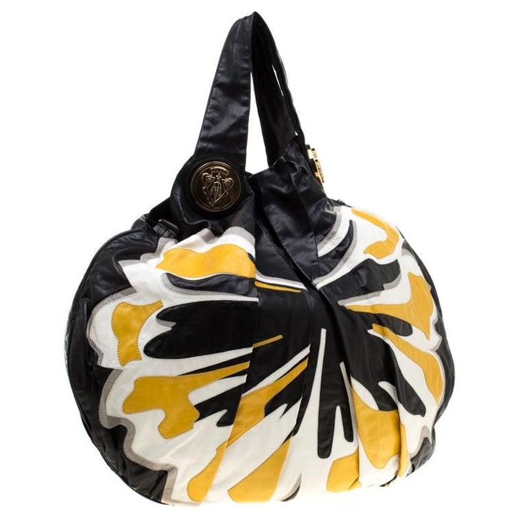 Gucci Multicolor Leather Large Hysteria Hobo In Good Condition For Sale In Dubai, Al Qouz 2