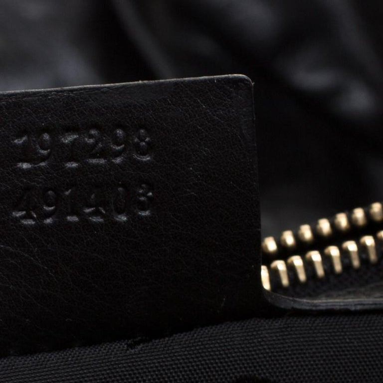 Gucci Multicolor Leather Large Hysteria Hobo For Sale 1