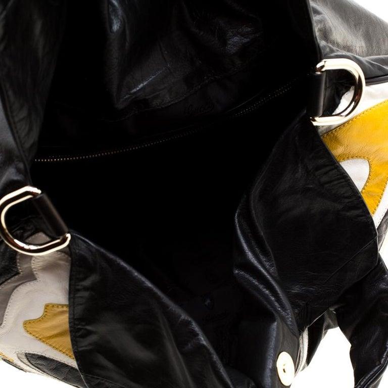 Gucci Multicolor Leather Large Hysteria Hobo For Sale 3