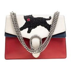Gucci Multicolor Leather Medium Panthere Embellished Dionysus Shoulder Bag