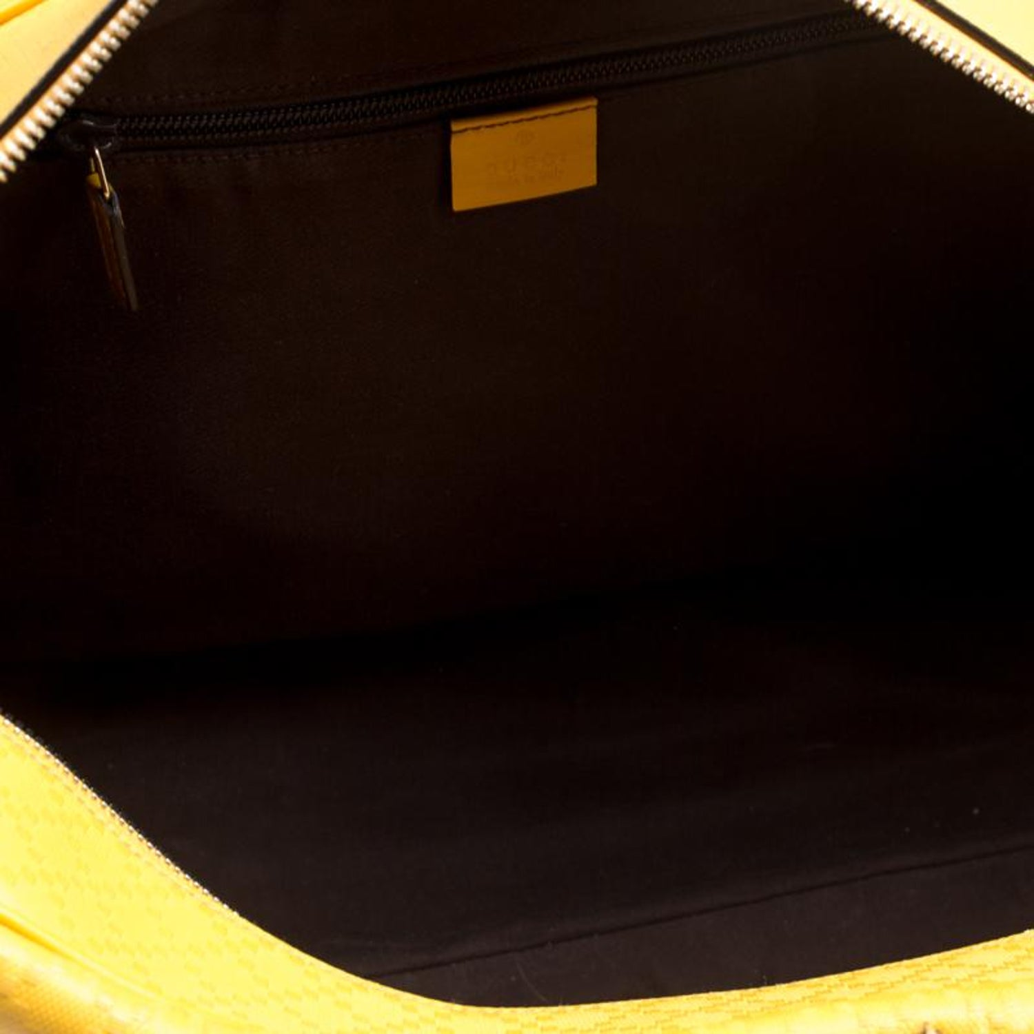 3556a2327960 Gucci Mustard Diamante Leather Medium Duffle Bag For Sale at 1stdibs