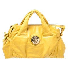 Gucci Mustard Leather Hysteria Tote