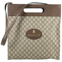 Gucci Neo Vintage Soft Tote GG Coated Canvas Medium